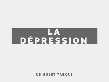 La dépression. Est-ce encore Tabou?