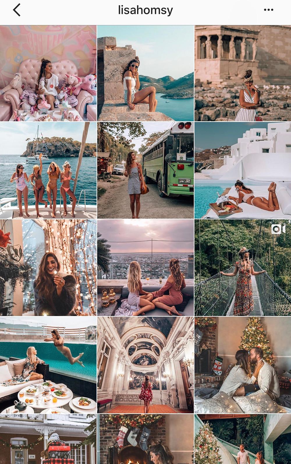 Lisahomsy sur Instagram