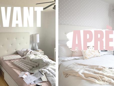Shop mon décor : Ma chambre à coucher boho-contemporaine.