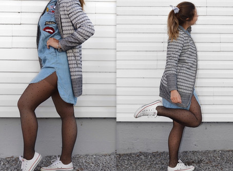 Lookbook: quand les collants donnent tout le look