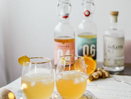 Idées de cocktails faciles et festifs pour les fêtes.