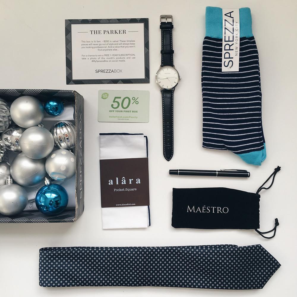 Sprezza Box- Idée cadeau Noël