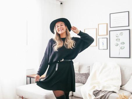 3 façons de porter tes robes d'été en hiver