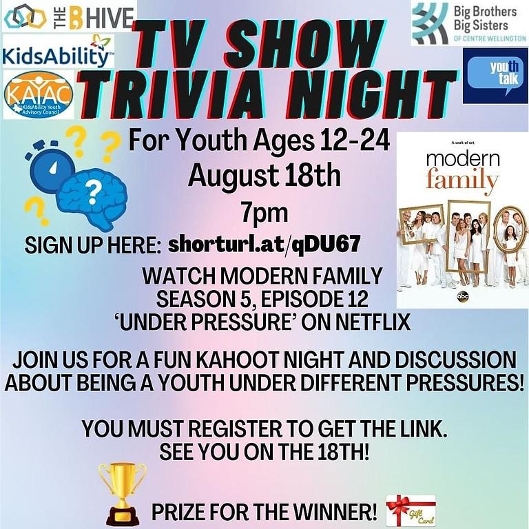 TV Show Trivia Night