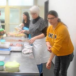 École Sainte-Anne : 450 kig ha farz ont été servis !
