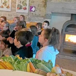 Les légumes au projet de l'école Saint-Joseph