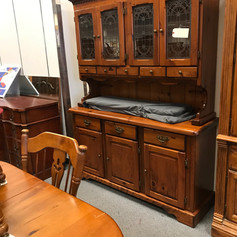 Dining Hutch and cabinet