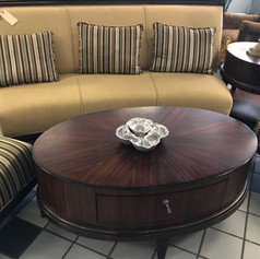 Exquisite wood coffee table