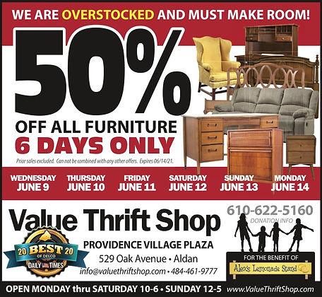 thrift shop furniture sale 50% off .jpg