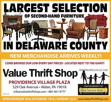 Largest Furniture Selection Delco Thrift