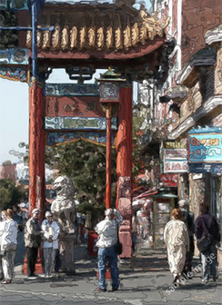 Impressions of China Town