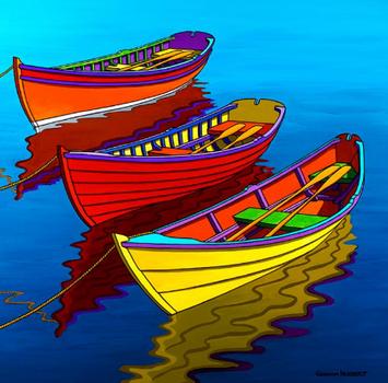 Waiting Rowboats