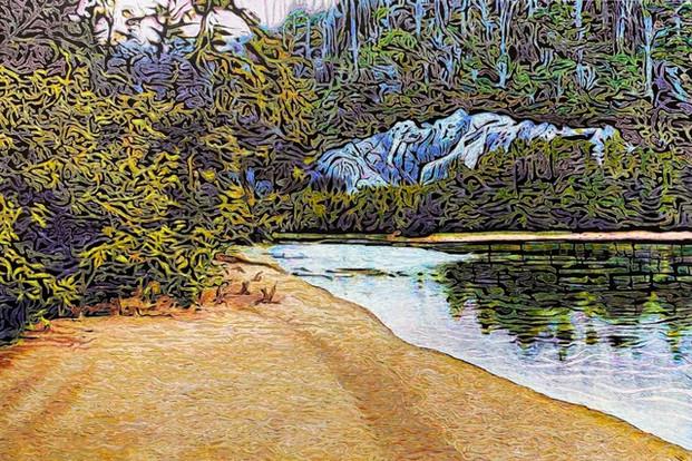 SOLD Blue Rock River