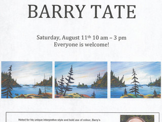 Meet and Greet with Barry Tate
