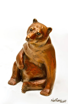 Sitting Bear -SOLD!