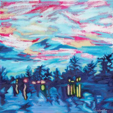 Robert's Bay at Night