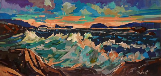 Evening Surf Acrylic