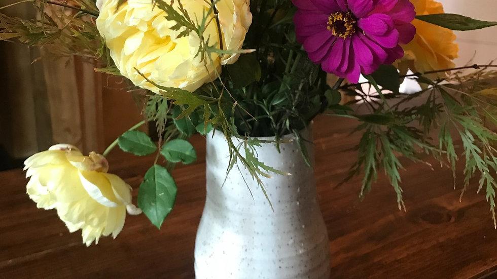 Bouquet Subscription-White Vase