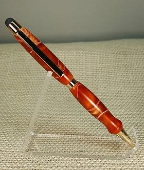 Acrylic Twist Pen with Stylus