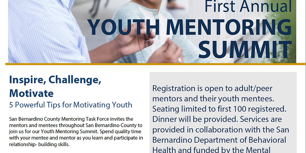 First Annual Youth Mentoring Summit