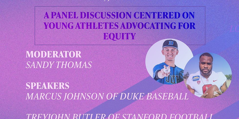 Young Athlete Activist Panel