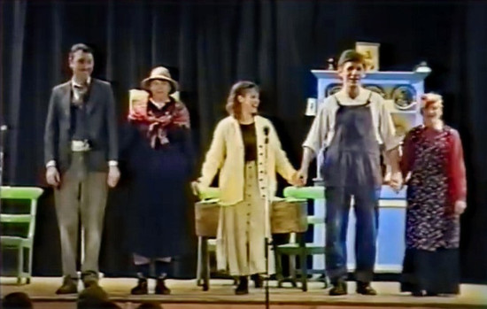 The Romantic Lover performed by Ballintotas Drama Group at the Midleton Parish Variety show 1994
