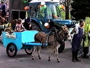 The Ballintotas float St Patrick's Parade Midleton, celebrating the centenary of Ballintotas NS 1998