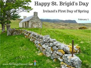 Saint Brigid of Kildare or Brigid of Ireland