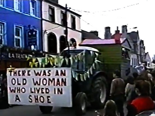 The Ballintotas Float and others, St Patrick's Day Parade Midleton 1997