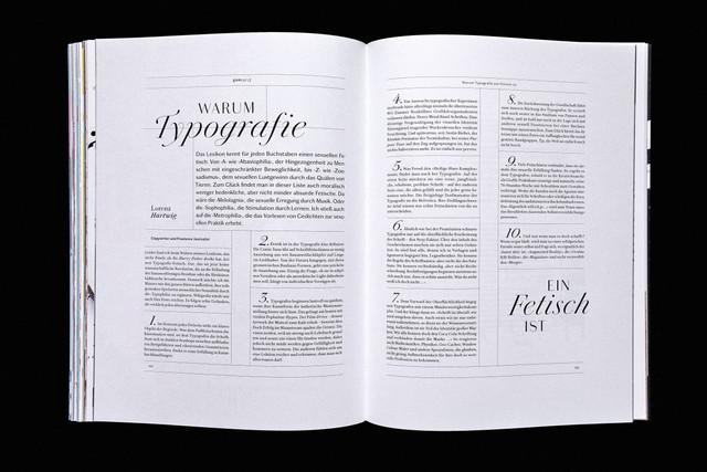 warum typografie ein fetisch ist