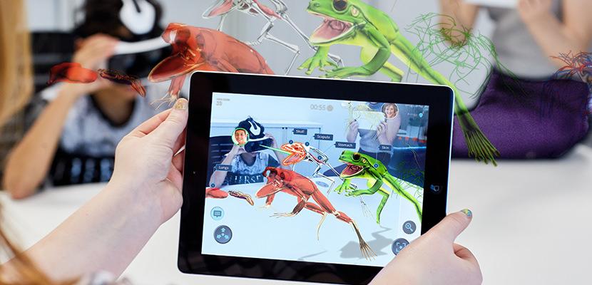creare giochi in realtà aumentata