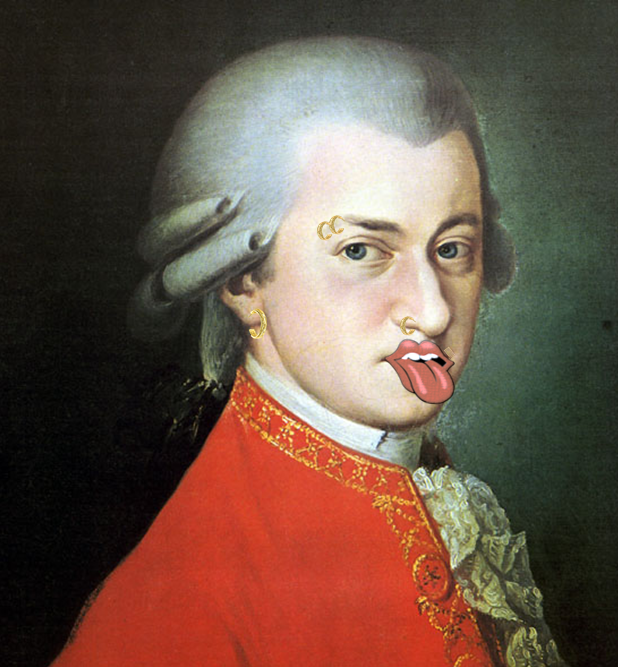 Irreverent Mozart