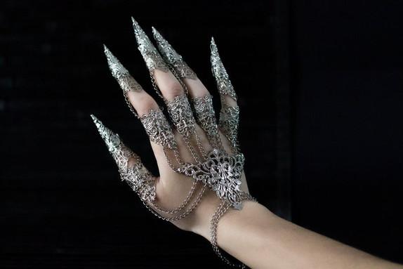 Bijou de main Argenté/Doré