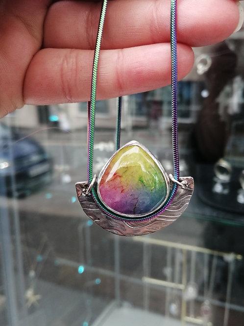 Rainbow Quartz Pendant