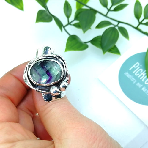 Fabulous Flourite Ring!