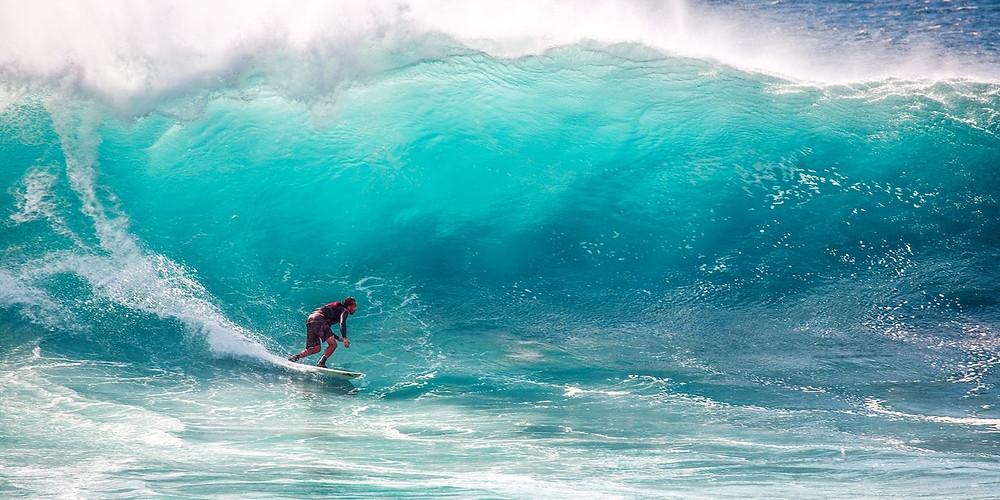 challing surfing