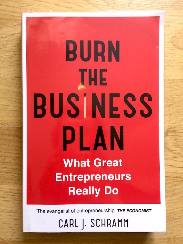 Burn the business plan book