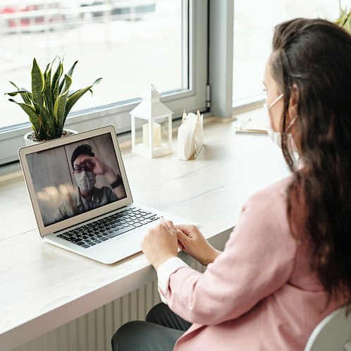 Online Meeting Package L พบนักจิตวิทยา 10 ครั้ง