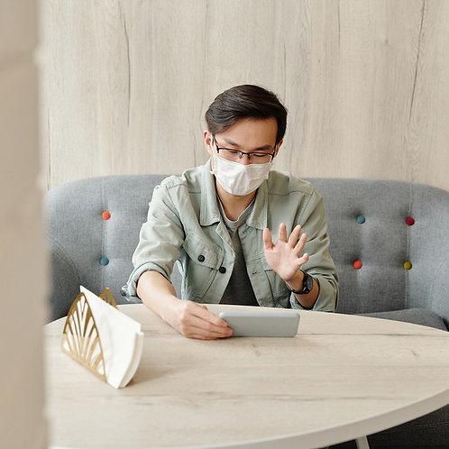 Online Meeting Package M พบนักจิตวิทยา 8 ครั้ง