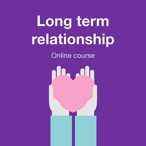 Long term Relationship - ออกแบบความรักได้ดังใจ