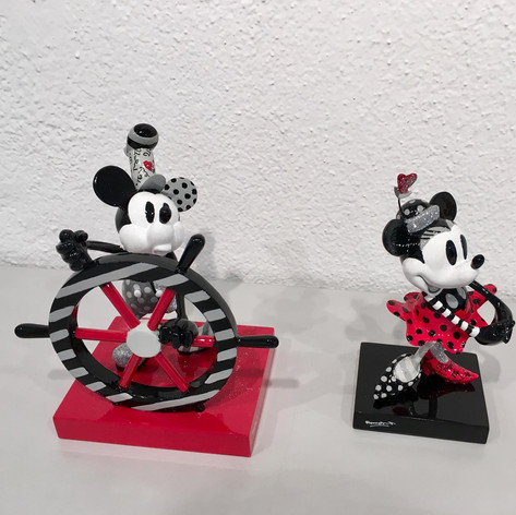 Steamboat Mickey und Steamboat Minnie