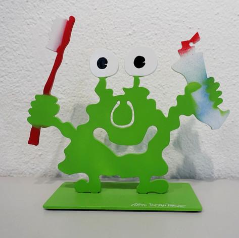 Monsterkollege Zähneputzen