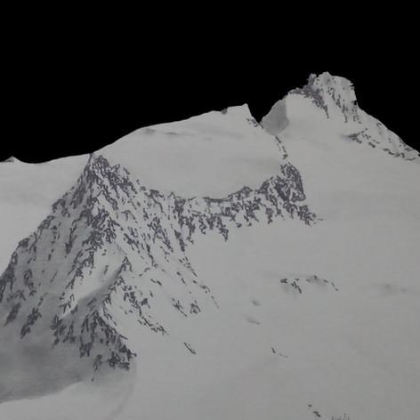 Schalfkogel 3537 m (Ötztaler Alpen/ Osttirol A)