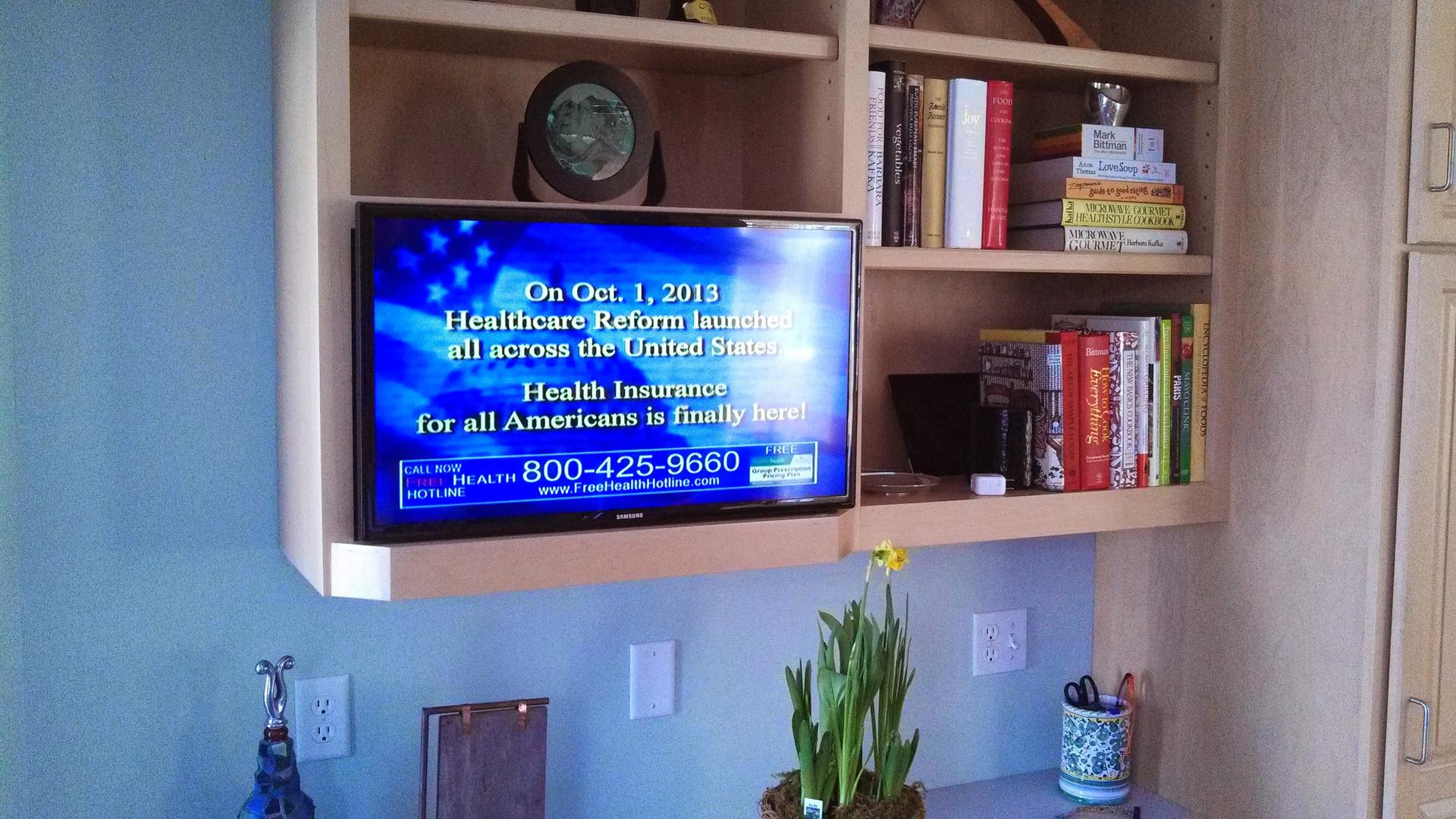Kitchen TV