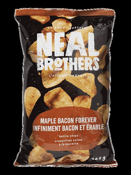 Neal Brothers croustilles - Infiniment Bacon et Érable