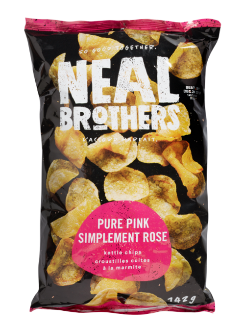 Neal Brothers croustilles -Simplement rose