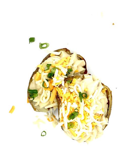 Pommes de terre farcies au bacon et fromage (2)