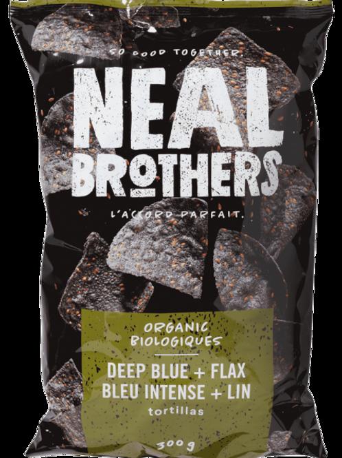 Neal Brothers croustilles - Bleu intense + Lin