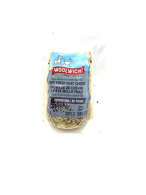 Woolwich - Fromage de chèvre au bleuets et vanille (113g)