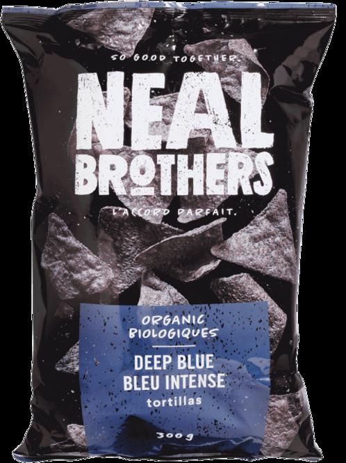 Neal Brothers croustilles - Bleu intense tortillas